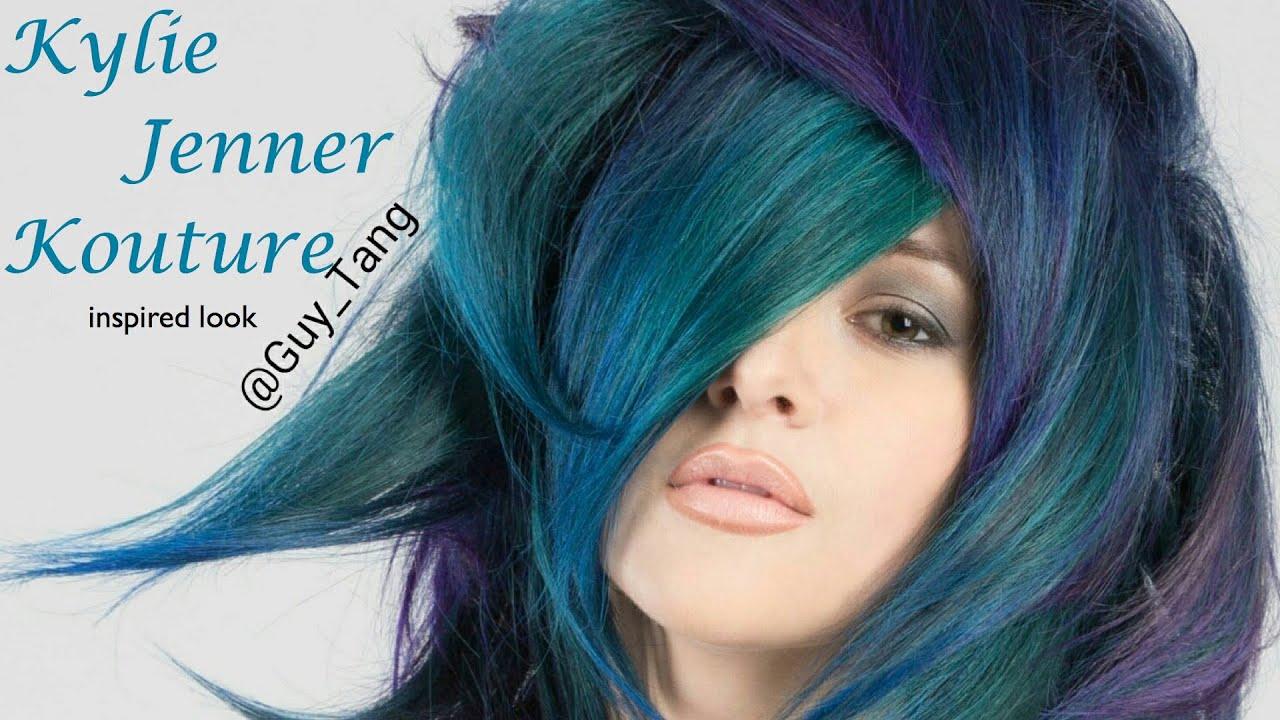 Blue Green Hair Color