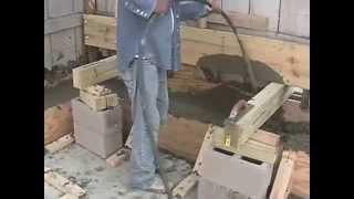 Saving Your Garage Pouring Concrete Part 3