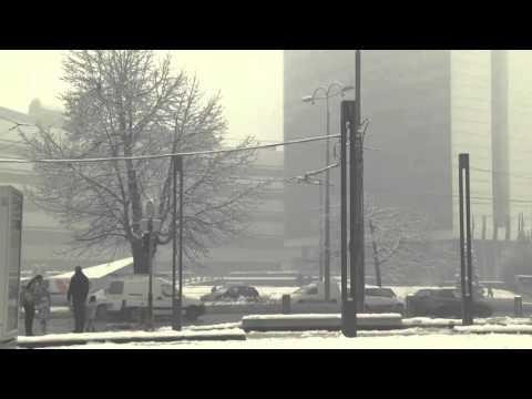 Snow And Smog Choke The Streets Of Sarajevo