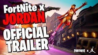 Fortnite X JORDAN Official Trailer (NEW CREATIVE MODE LTM, FREE REWARDS & GAMEPLAY)