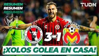 Resumen y Goles | Tijuana 3 - 1 Morelia | Copa Mx - Cuartos de Final (Ida) | TUDN