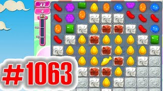 Candy Crush Saga Level 1063 NEW | Complete!