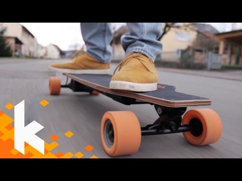 Elektrisches Longboard? E-Go Cruiser Review!