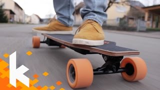 Elektrisches Longboard? E-Go Cruiser Review!