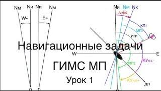Яхтенная школа RENSEL (IYT & ГИМС) Урок 1 навигационные задачи в новых экзаменационных билетах 1 ч