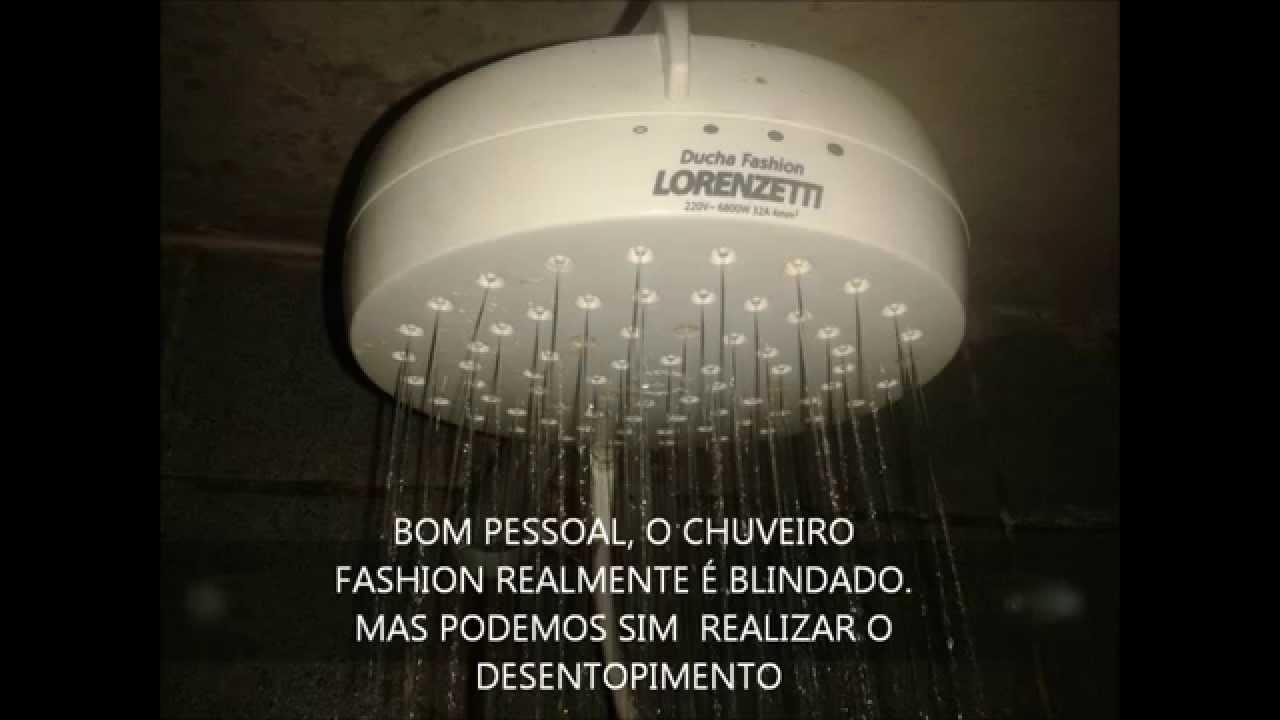 Como desentupir sua ducha lorenzetti fashion youtube for Desmontar ducha