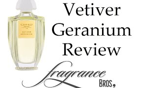 видео Creed Vetiver Geranium