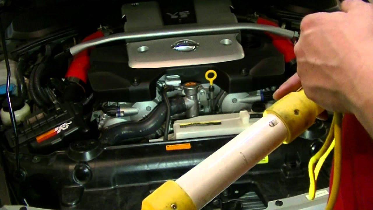 2008 350Z MishiMoto Intake Silicone Tubes