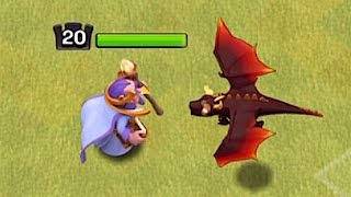 NEW DRAGON TROOP BALANCE UPDATE!!🔸HERO+DRAG COMBO🔸Clash of clans