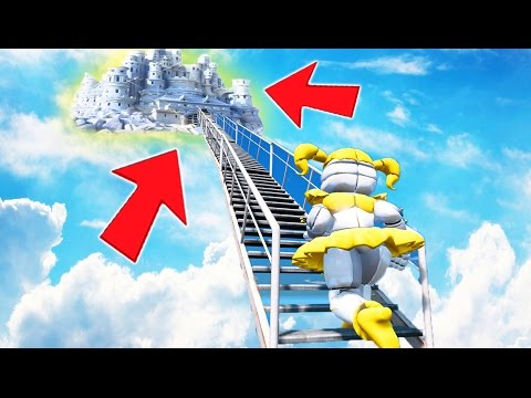 I CAN'T BELIEVE WHAT GOLDEN BABY FOUND! STAIRWAY TO HEAVEN! (GTA 5 Mods For Kids FNAF) RedHatter
