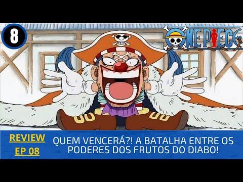 REVIEW: One Piece 1x8 – Quem Vencerá?! A Batalha Entre os Poderes dos Frutos do Diabo!