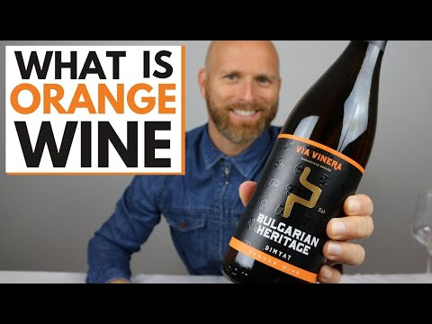 What is ORANGE WINE A guide to this ancient and natural wine.
