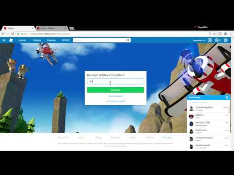 Roblox Toy Code Redeeming Redeeming A Roblox Toy Code Youtube
