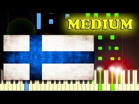 FINLANDIA HYMN - Piano Tutorial