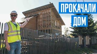 Интересная реконструкция старого дома. Самый необычный дом.