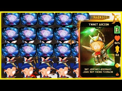 MECHA TIMMY LEGENDARY CARD GAMEPLAY! | South Park Phone Destroyer!