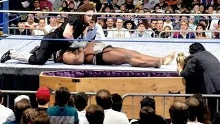 Undertaker vs Kamala CASKET MATCH WWF Survivor Series 1992 UNDERTAKERS GRAVEST MATCHES