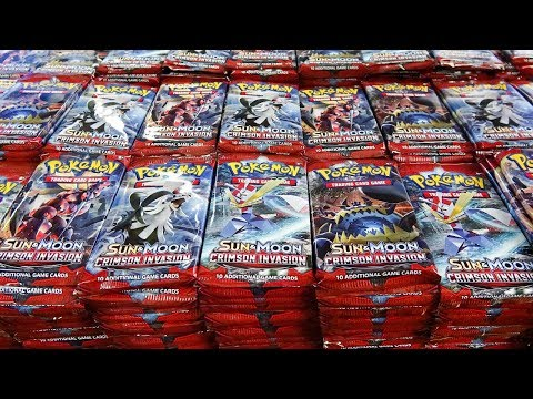Opening 1,000 Crimson Invasion Pokemon Packs