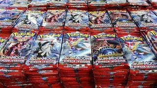 Opening 1,000 Crimson Invasion Pokemon Packs