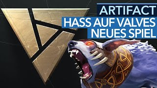 Artifact -  Hass auf Valves neues Spiel - Talk-Video