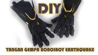 Cara Membuat Tangan Gempa BoBoiBoy Earthquake - DIY