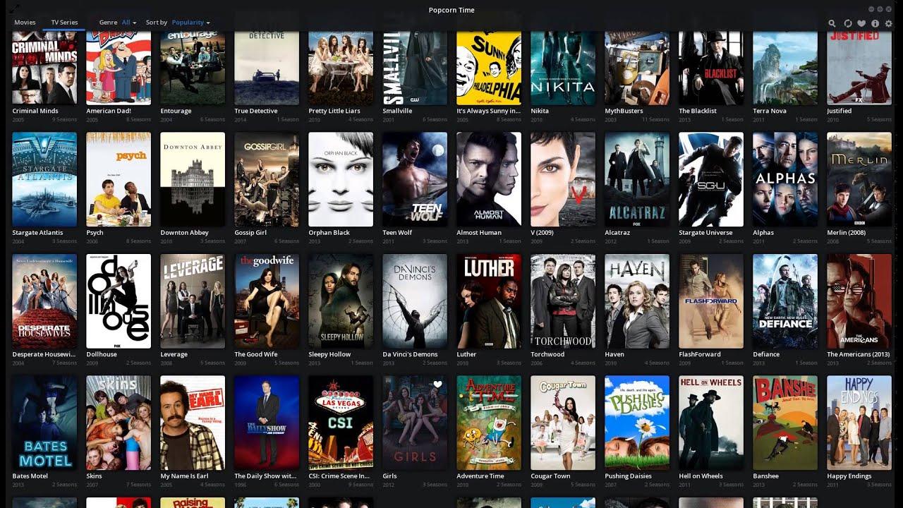 Get Popcorn Time - Free TV & Movie Torrent Streaming - Ubuntu 12.04 14.04 15.04 Linux - YouTube