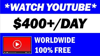 Download 🎬🆘 Get Paid $400 To Watch YouTube Videos (2021) NEW Make Money Online   Branson Tay