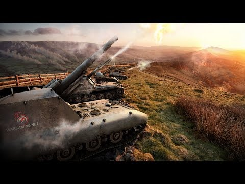 Танкосмотр2019 #10. Германия. САУ (ветка G.W.E 100)   World Of Tanks