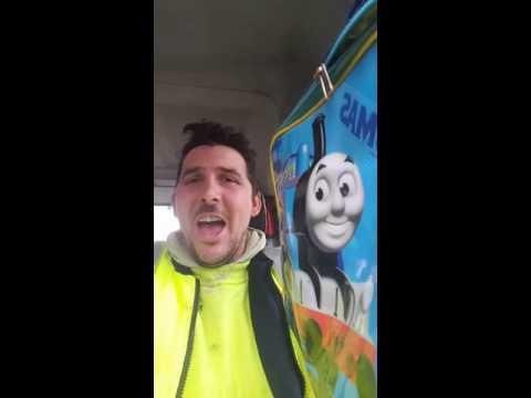 Thomas the tank engine face swap.. snapchat