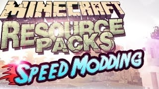 ★ SPEED MODDING ★ Minecraft 1.11 Resource Packs Installation in 81 Sekunden!