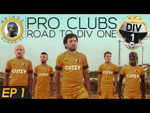 FIFA 18 PRO CLUBS | ROAD TO DIVISION ONE (Ep 1) - CAN THIS BE YOUR FAVOURITE TEAM?