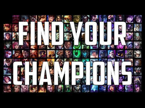 [Season 9] How To Find Your Ideal Champions | League Of Legends (Classes & Subclasses Calculator)