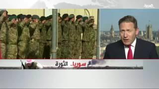 القوات الخاصة البريطانية تساند الجيش السوري الحر