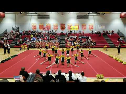 Bruton High School at 2A Regional Cheerleading Competition 2018
