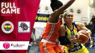 Fenerbahce Oznur Kablo  v Famila Schio - Full Game - EuroLeague Women 2019-20