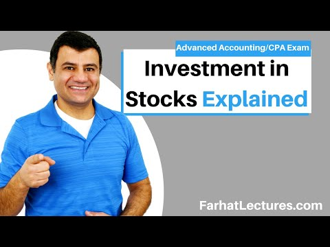 Investments in Stocks | Advanced Accounting | CPA Exam FAR | Ch 4 P 1