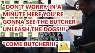 """Pierce """"The Fierce"""" Takes Butcher Out Of Book On Move 2! (Weird Opening!)"""