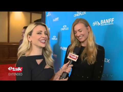 Yvonne Strahovski  etalk at BANFF World Media Festival  14 June 2017
