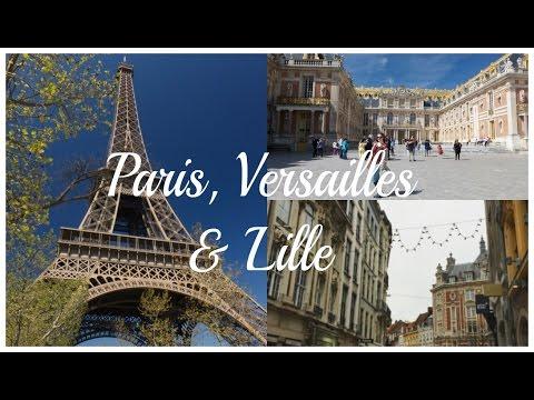 ARCHITECTURE IN FRANCE: Paris, Versailles & Lille