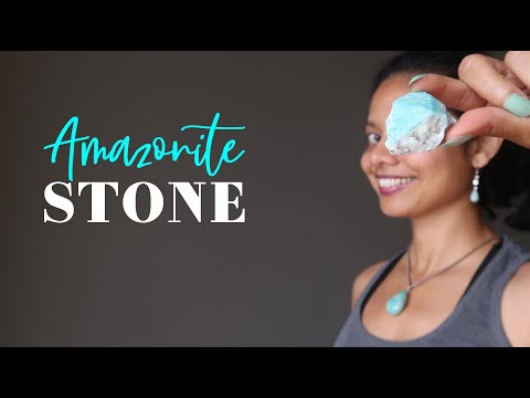 Amazonite Stone - A-Z Satin Crystals Meanings