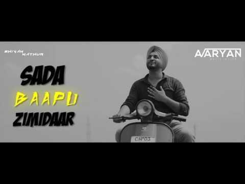 Bapu Zimidar ! Jassi Gill ! Remixed By DJ Aaryan