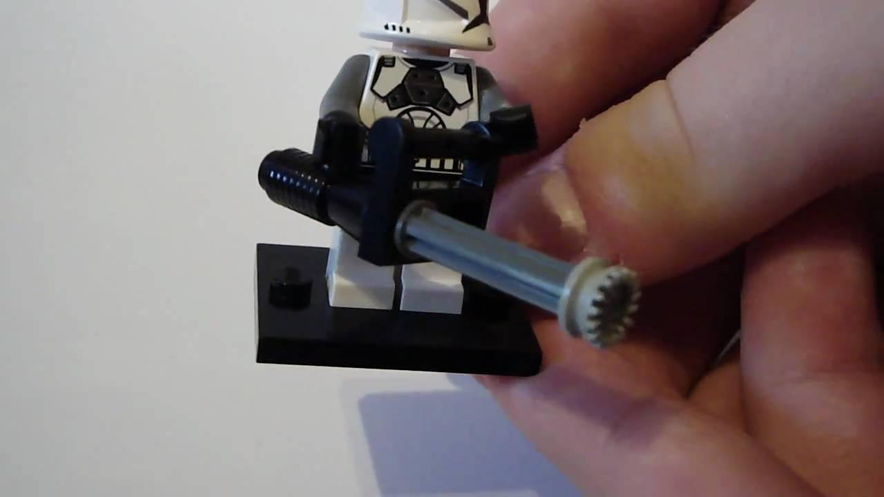 How To Build A Lego Star Wars Machine Gun