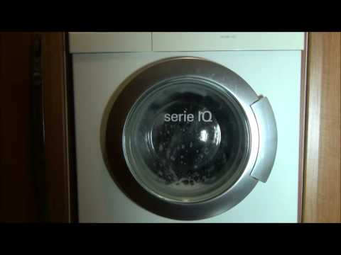 Siemens IQ1430 Washing Machine : Cotton 40'c mini load stains + rinse plus