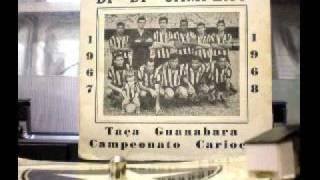 Hino do Botafogo com letra original - Raridade