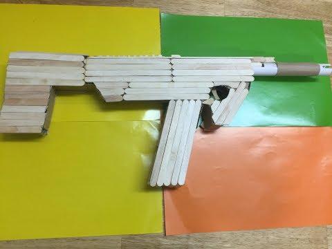 How to Make a Rubber Band Machine Gun
