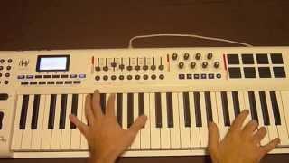 Video Calvin Harris - Blame ft. John Newman (Tuto Piano) download MP3, 3GP, MP4, WEBM, AVI, FLV Desember 2017