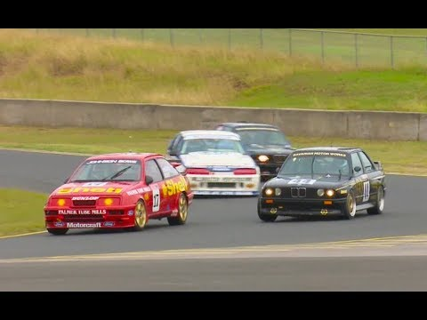 Historic Group A & C Touring Car Racing Heritage Touring Sydney Classic Speed Festival 2017 Race 3