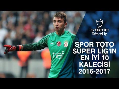 Spor Toto Süper Lig'in En iyi 10 Kalecisi 2016-2017
