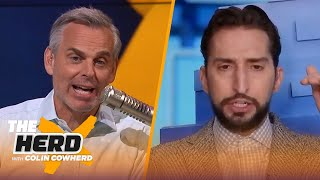 Zion is unstoppable, Nick talks Mac Jones' draft value & Aaron Rodgers hosting Jeopardy | THE HERD