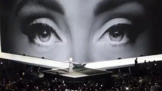 Adele - Hello - Live in  Glasgow 2016 - 25 Tour SSE Hyrdo - 25 and 26 March